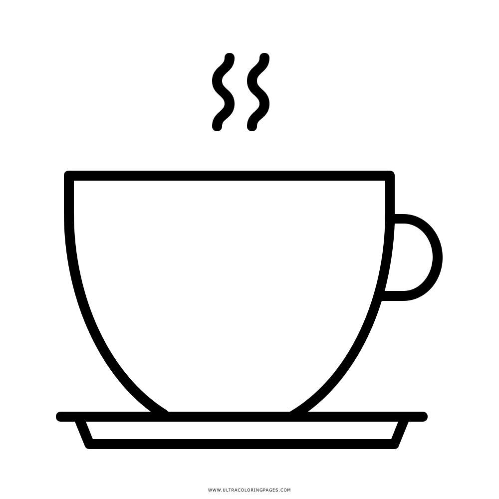 Tasse Clipart Kostenlos: Tasse Ausmalbild