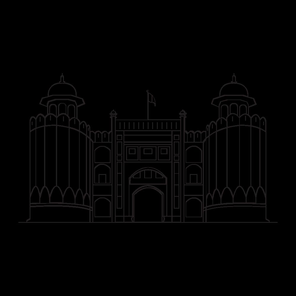 gateway of pakistan Coloring Page
