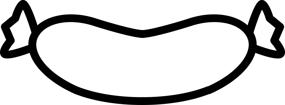 Ausmalbilder Wurst: Dibujo De Enlace De Salchicha Para Colorear
