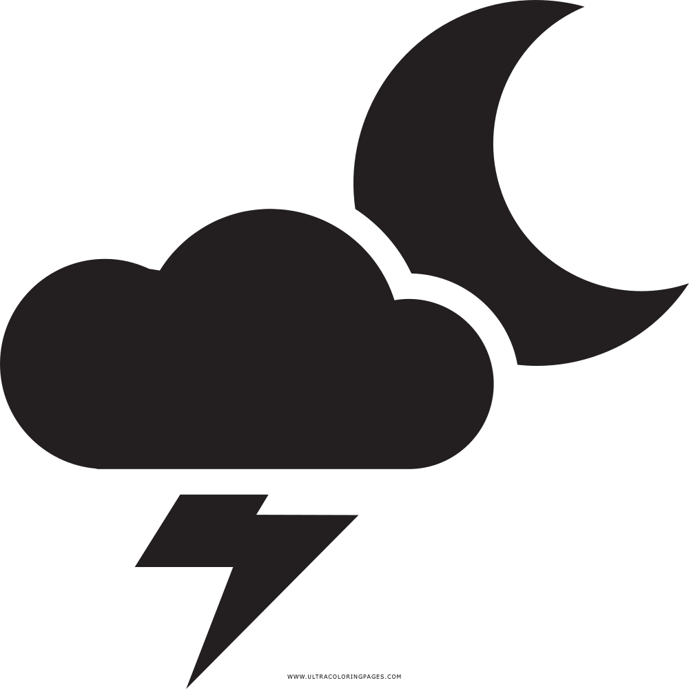 thunderstorm coloring page ultra coloring pages