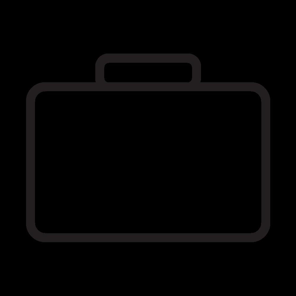 briefcase Coloring Page