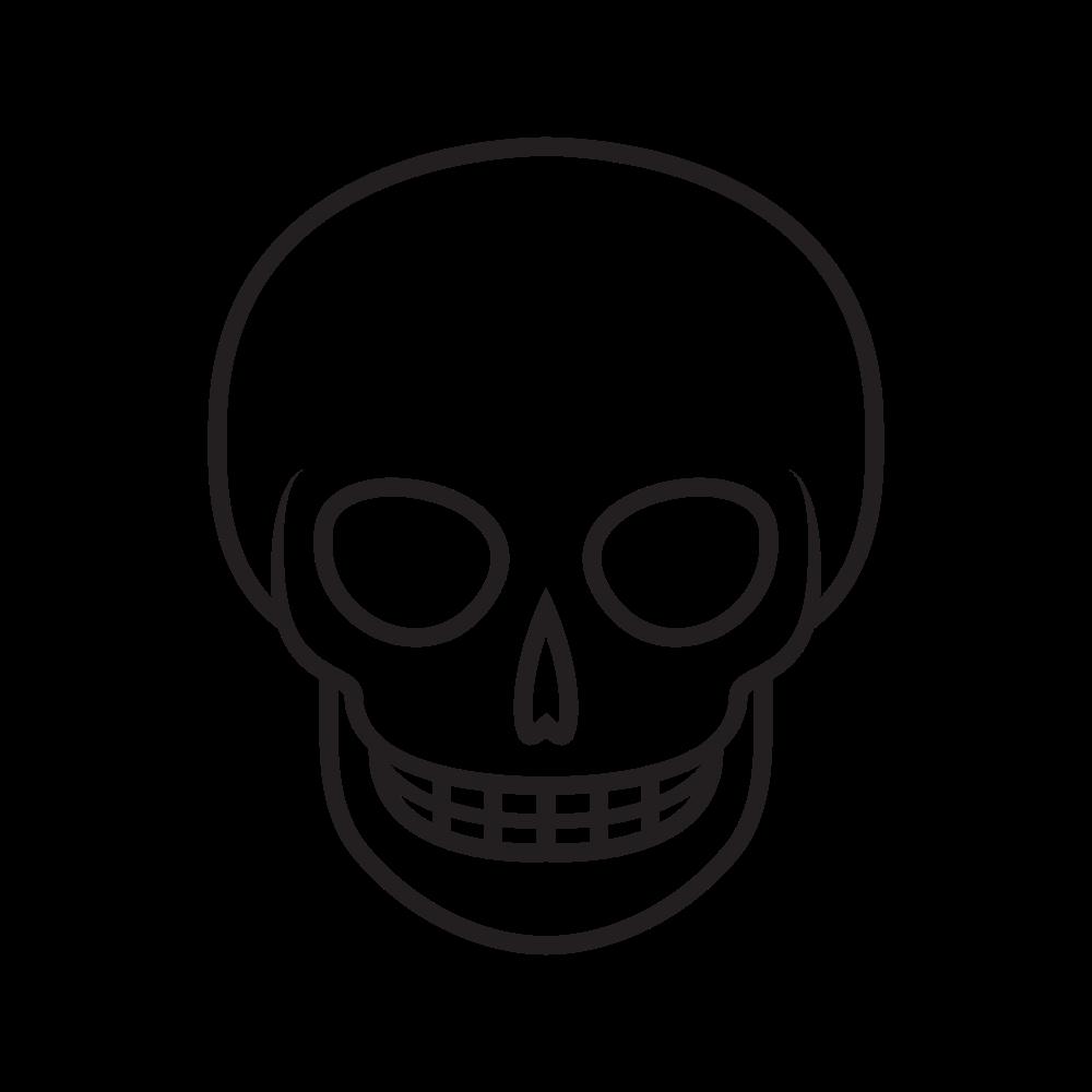 Dibujo De Cráneo Para Colorear - Ultra Coloring Pages
