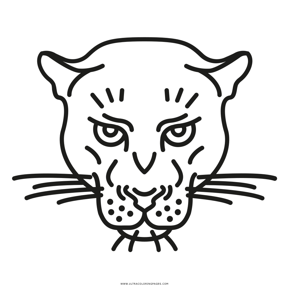 Panther Ausmalbilder - Ultra Coloring Pages